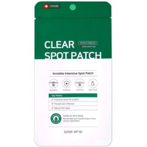 SOME BY MI CLEAR SPOT PATCH 30Days miracle - Антибактериальные патчи против прыщей 18шт