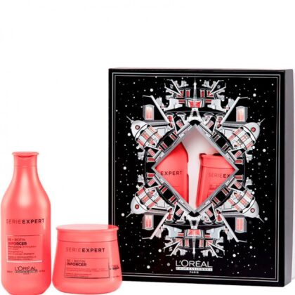 L'OREAL Professionnel INFORCER BOX – Набор против ломкости волос Укрепляющий (Шампунь + Маска) 300 + 250мл